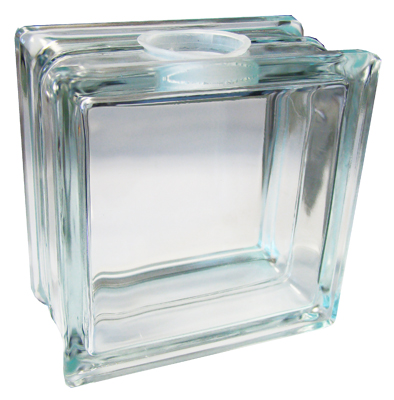 Kraftyblok 5 1 2 clear glass block diamond tech lincoln for Wholesale glass blocks for crafts